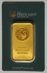 Perth Mint 50 gramov