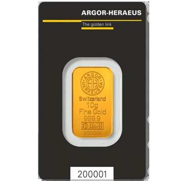 Argor Heraeus SA 10 gramov