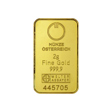 Münze Österreich 2 gramy