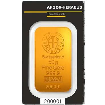 Argor Heraeus SA 50 gramov