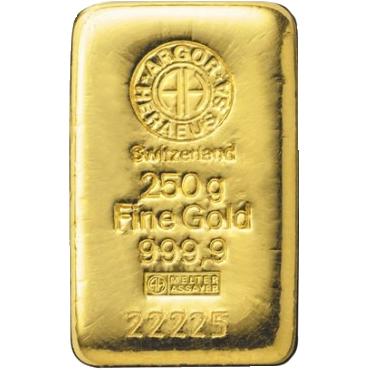 Argor Heraeus SA 250 gramov