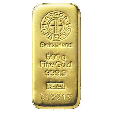 Argor Heraeus SA 500 gramov