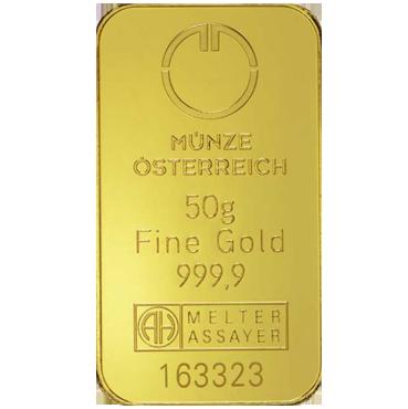 Münze Österreich 50 gramov