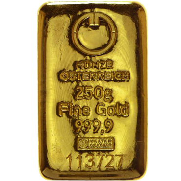 Münze Österreich 250 gramov