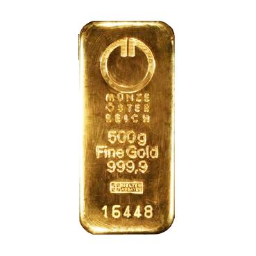 Münze Österreich 500 gramov