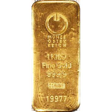 Münze Österreich 1000 gramov