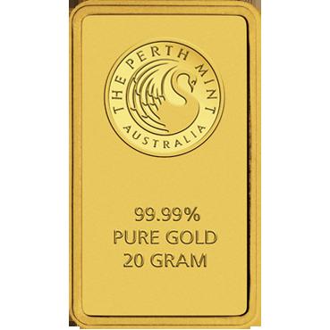 Perth Mint 20 gramov