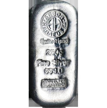 Argor Heraeus SA 250 gramov Ag