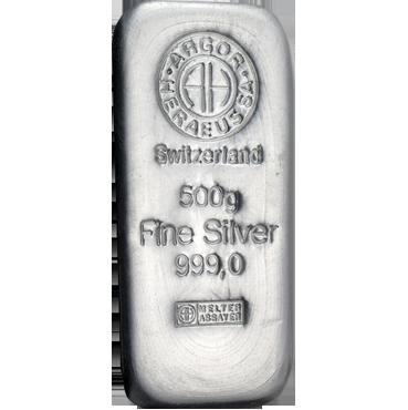 Argor Heraeus SA 500 gramov Ag
