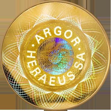 Argor Heraeus SA 1 Oz Round-Kinebar