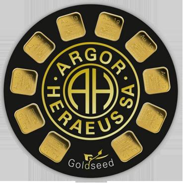 Argor Heraeus SA Goldseed 10 x 1 g