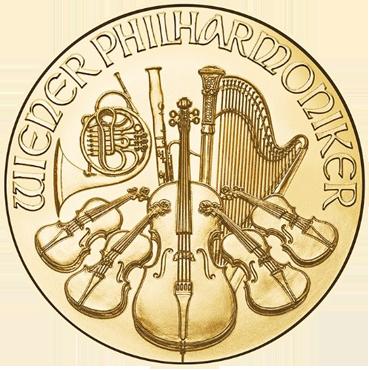 Wiener Philharmoniker 1/10 Oz