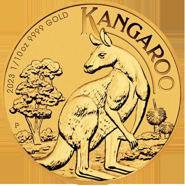 Kangaroo 1/10 Oz