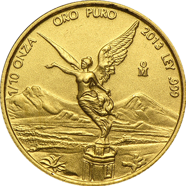 Mexico Libertad 1/10 Oz