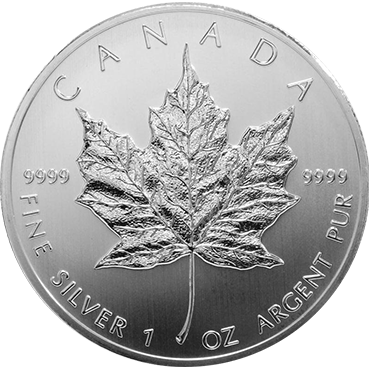 Maple Leaf 1 Oz Ag