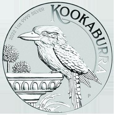 Kookaburra 1 Oz Ag