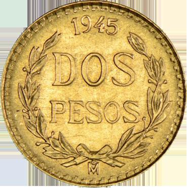 Mexico 2 Pesos