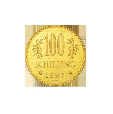 100 Schilling I. republika Rakúsko