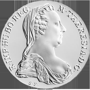 Toliar Márie Terézie - novorazba Blister