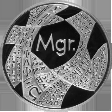 Titulárna medaila – Mgr.