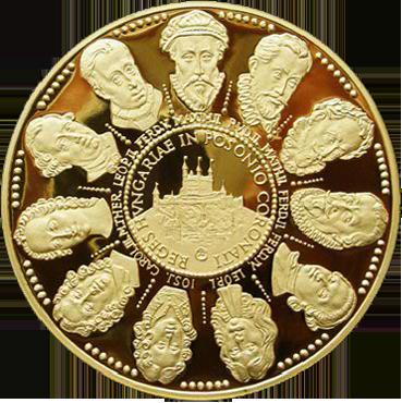 Panovníci korunovaní v Bratislave