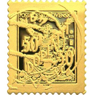 Najznámejšia československá známka