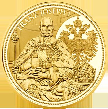 100 € - Koruna Rakúskeho cisárstva 2012