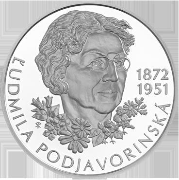 10 € - Ľudmila Podjavorinská - 150. výročie narodenia 2022