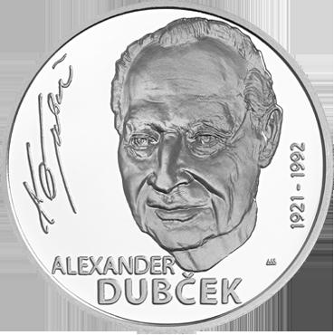 10 € - Alexander Dubček - 100. výročie narodenia 2021