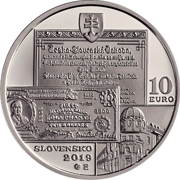 10 € - Michal Bosák – 150. výročie narodenia 2019