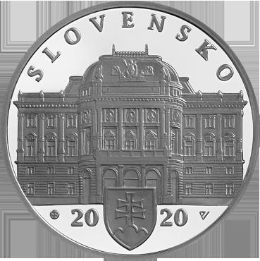 10 € - Slovenské národné divadlo – 100. výročie založenia 2020