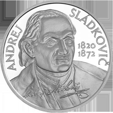 10 € - Andrej Sládkovič – 200. výročie narodenia 2020