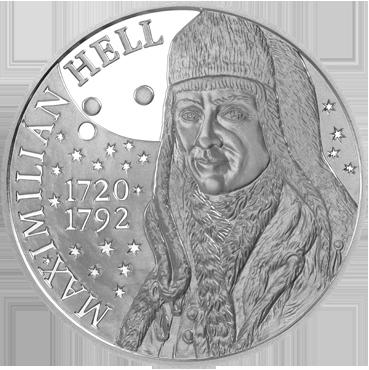 10 € - Maximilián Hell – 300. výročie narodenia 2020