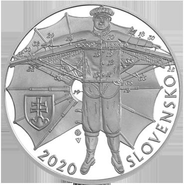 10 € - Štefan Banič – 150. výročie narodenia 2020