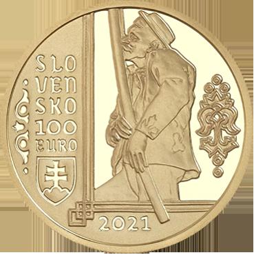 100 € - Nehmotné kultúrne dedičstvo SR - FUJARA, hudobný nástroj a jeho hudba 2021
