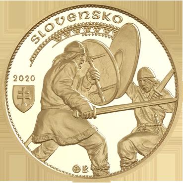100 € - Nitrianske knieža Svätopluk II. 2020