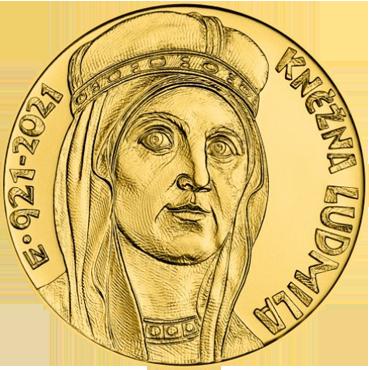 10.000 Kč – kňažná Ľudmila mimoriadna razba 2021