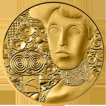 50 € - Klimt a jeho ženy – Adele Bloch – Bauer 2012 proof