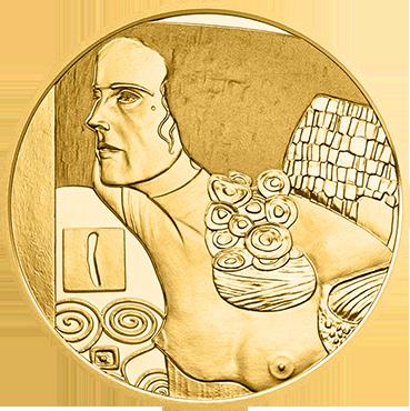 50 € - Klimt a jeho ženy – Judith II 2014 proof