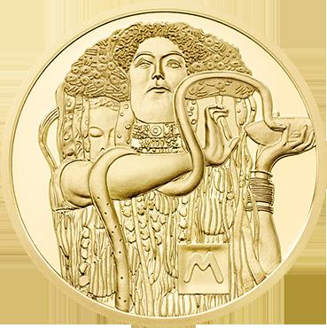 50 € - Klimt a jeho ženy – Medicína 2015 proof