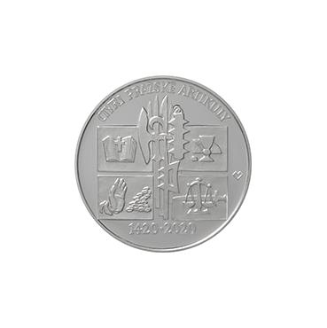 200 Kč – Vydanie Štyroch pražských artikul 2020