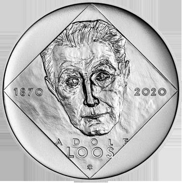 200 Kč – Adolf Loos 2020