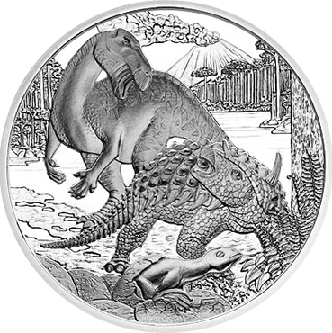 20 € - Prehistorický život: Krieda 2014