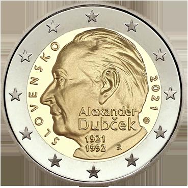 2 € - Vznik Slovenskej republiky - 25. výročie 2018