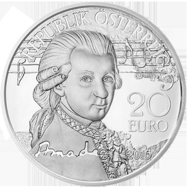20 € - Mozart – Génius