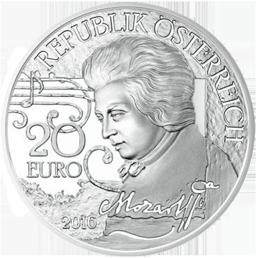 20 € - Mozart – Mýtus
