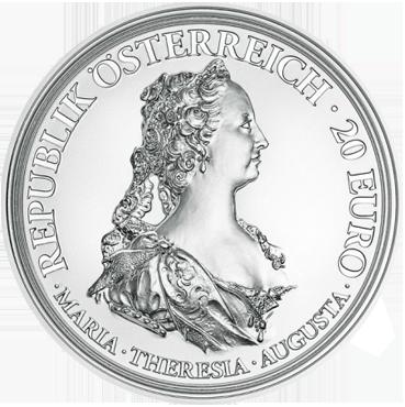 20 € - Mária Terézia – Odvaha a Odhodlanie