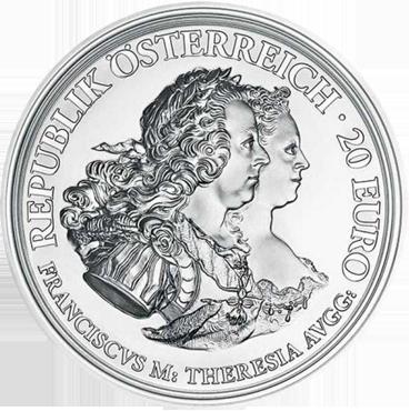20 € - Mária Terézia – Spravodlivosť a Charakter