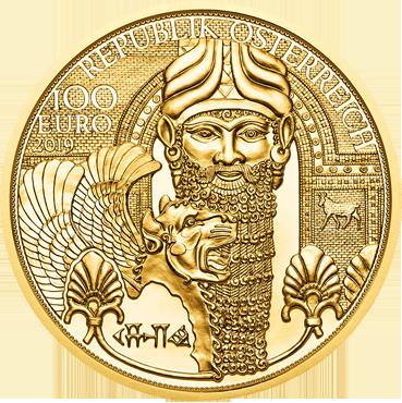 100 € - Kúzlo zlata – Zlato mezopotámie