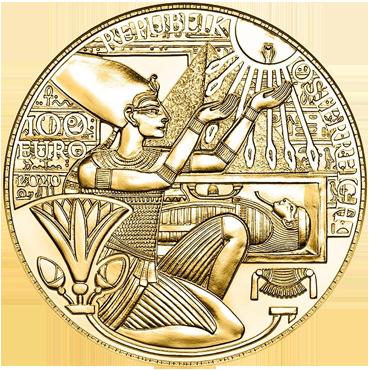 100 € - Kúzlo zlata – Zlato faraónov